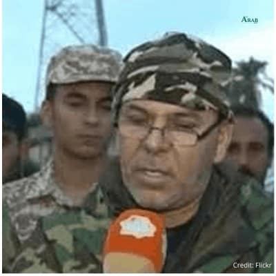 """Salah Badi, commander of the militia, the """"al-Samoud Brigade"""" of the al-Wefaq forces affiliated with the Muslim Brotherhood, said that he does not recognize the decisions of the United Nations and the pernicious international community."""