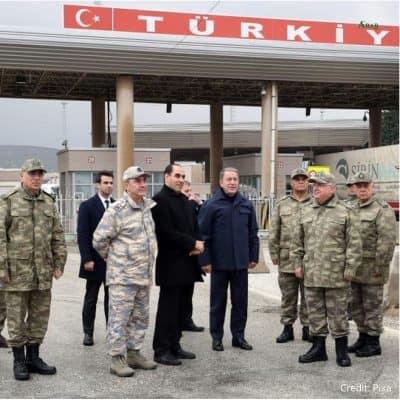 MDDLE EAST ,SYRIA , IDLIB, TURKEY ,