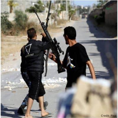 Lybia War , syria