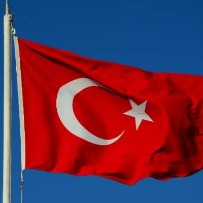 Flag of Republic of turkey