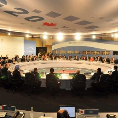 G20 Summit in Toronto, 26 June 2010