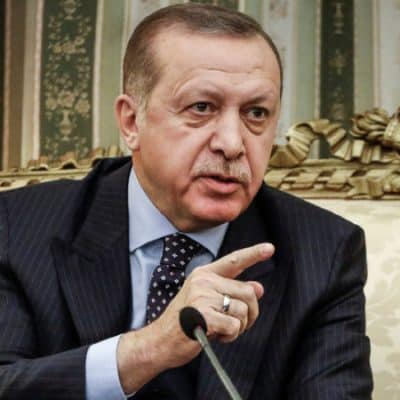 , Turkish President Recep Tayyip Erdogan