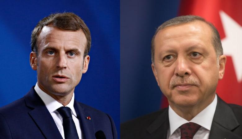 Emmanuel Macron & Recep Tayyip Erdoğan