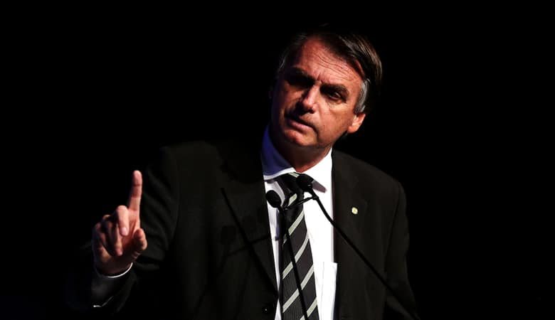 president-elect of Brazil JAIR BOLSONARO