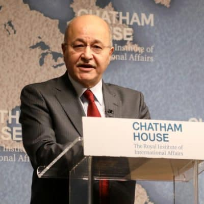 Barham Salih, President of Iraq