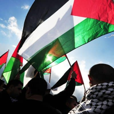 National flag of Palestinians