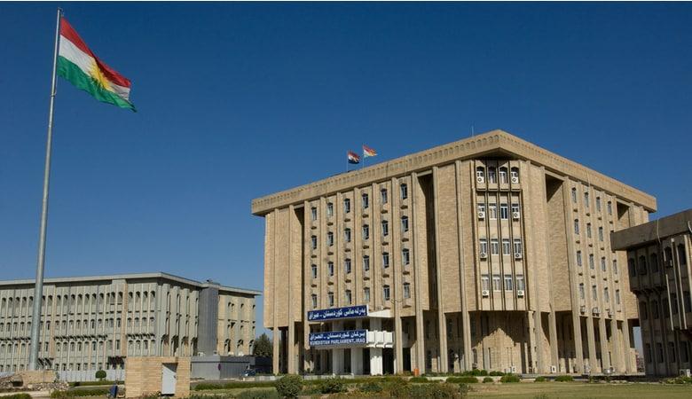 The Parliament building of the Kurdish