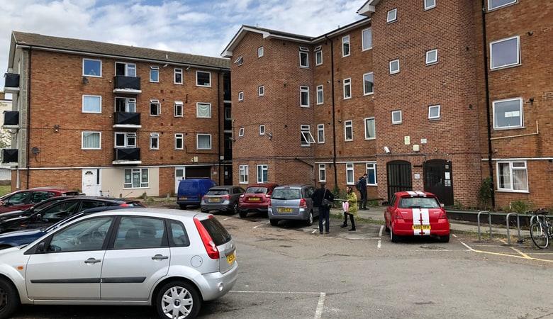The flat belonging to the terrorist Khairi Saadallah