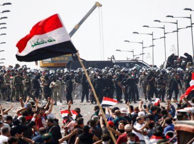 Iraq-Militia-Protest