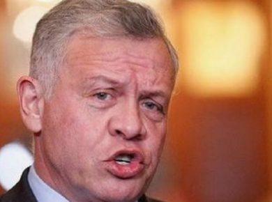 King Abdullah jordan